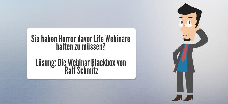 Die Webinar Blackbox von Ralf Schmitz